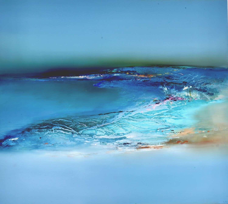 Original signed oil painting by Elaine Jones: