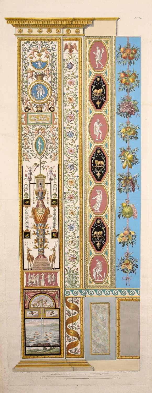 Logge del Vaticano, Rome 1777